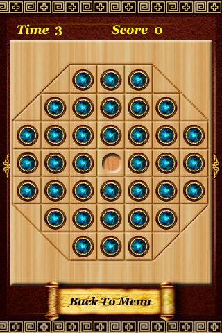 Screenshot Pegs Solitaire