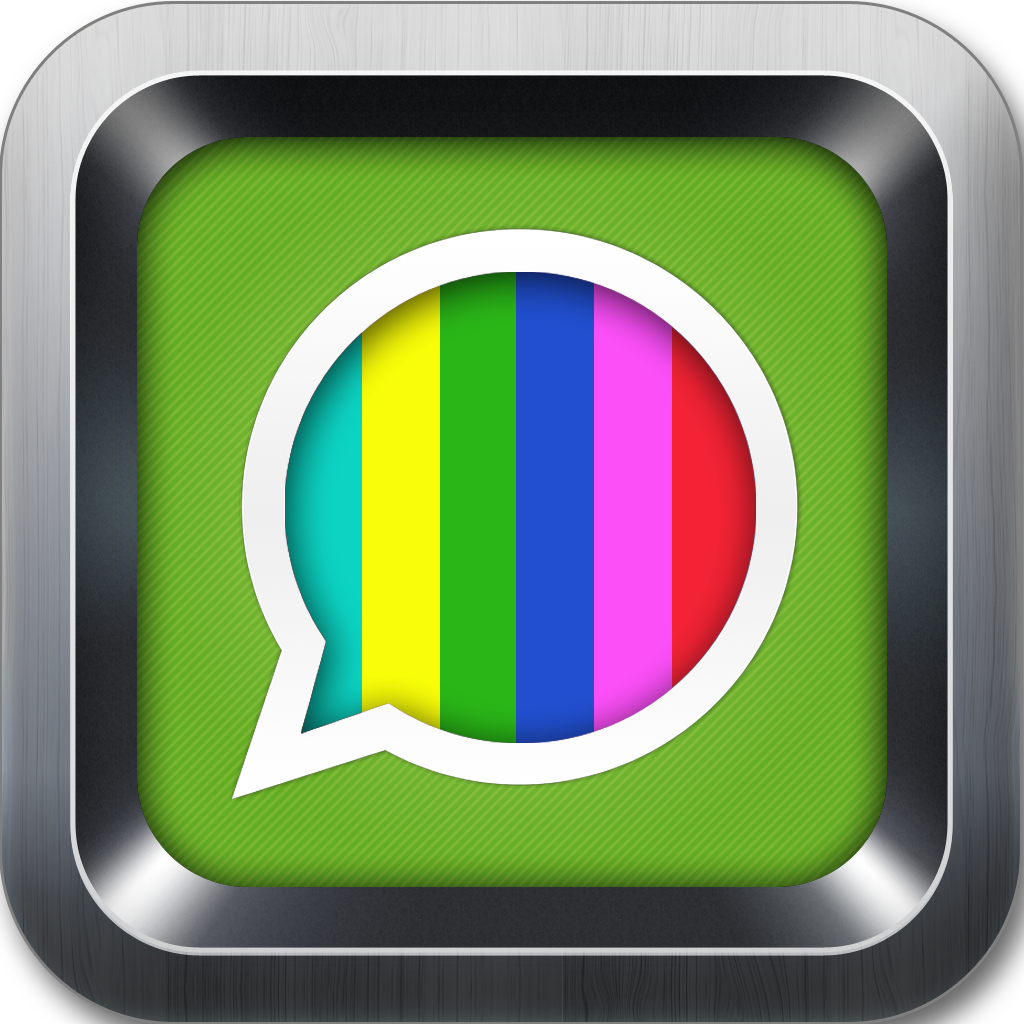 Color text messages with scrolling gif animation emoji emoticons app icon biocorpaavc Images